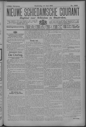 Nieuwe Schiedamsche Courant 1918-06-13
