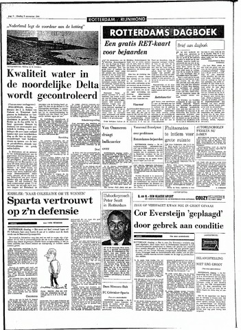Rotterdamsch Parool / De Schiedammer 1970-11-03