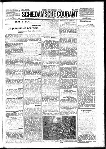 Schiedamsche Courant 1935-01-22