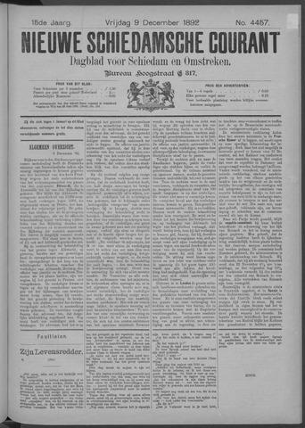 Nieuwe Schiedamsche Courant 1892-12-09