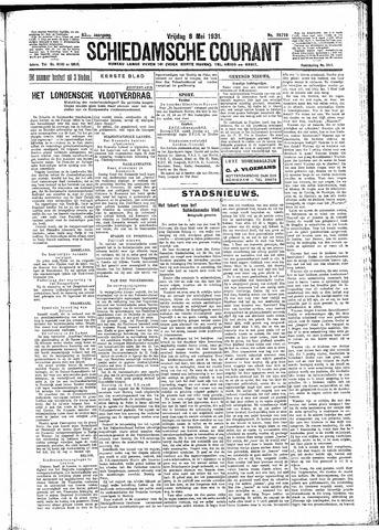 Schiedamsche Courant 1931-05-08