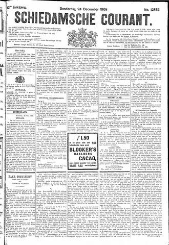 Schiedamsche Courant 1908-12-24