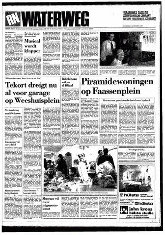 Rotterdamsch Nieuwsblad / Schiedamsche Courant / Rotterdams Dagblad / Waterweg / Algemeen Dagblad 1987-10-08