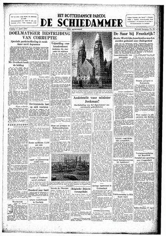 Rotterdamsch Parool / De Schiedammer 1947-04-11
