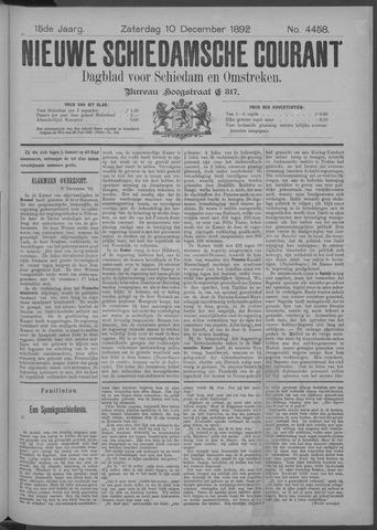 Nieuwe Schiedamsche Courant 1892-12-10