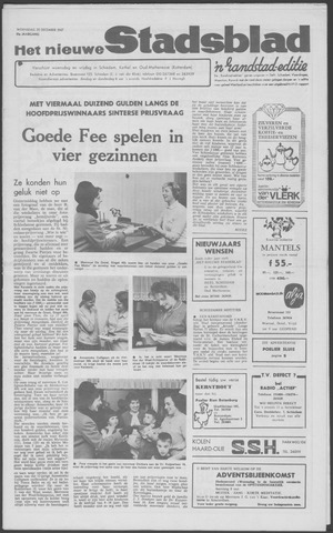 Het Nieuwe Stadsblad 1967-12-20