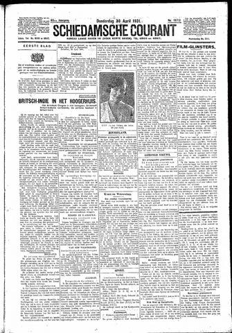 Schiedamsche Courant 1931-04-30