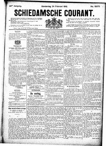 Schiedamsche Courant 1916-02-24