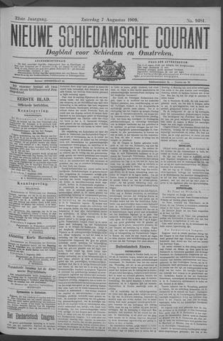 Nieuwe Schiedamsche Courant 1909-08-07