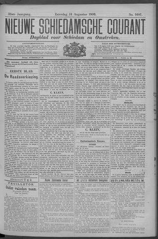 Nieuwe Schiedamsche Courant 1909-08-14