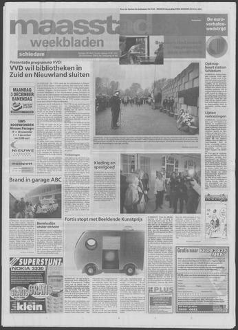 Maaspost / Maasstad / Maasstad Pers 2001-11-28