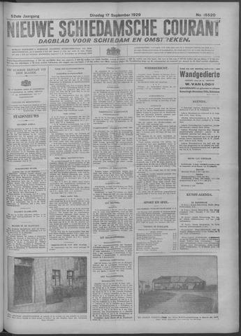 Nieuwe Schiedamsche Courant 1929-09-17
