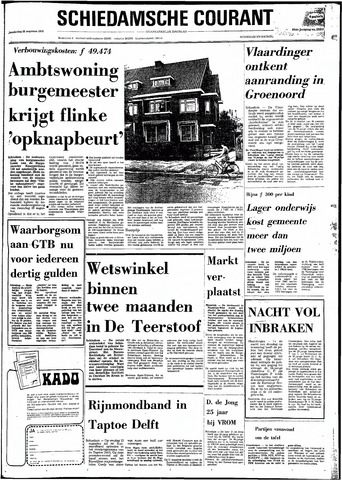 Rotterdamsch Nieuwsblad / Schiedamsche Courant / Rotterdams Dagblad / Waterweg / Algemeen Dagblad 1974-08-22