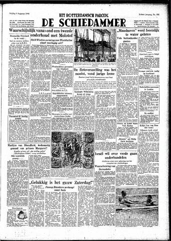 Rotterdamsch Parool / De Schiedammer 1948-08-06