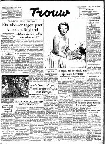 Trouw / De Rotterdammer 1956-01-30