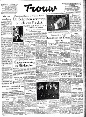 Trouw / De Rotterdammer 1955-10-06