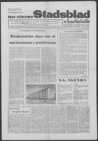 Het Nieuwe Stadsblad 1962-09-28