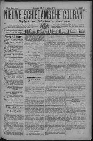 Nieuwe Schiedamsche Courant 1913-08-26