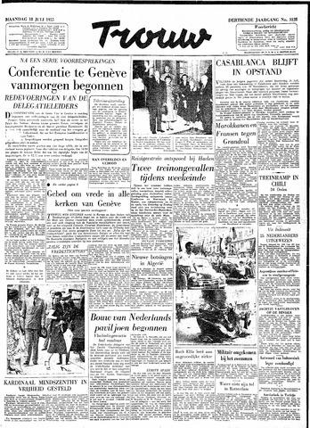 Trouw / De Rotterdammer 1955-07-18