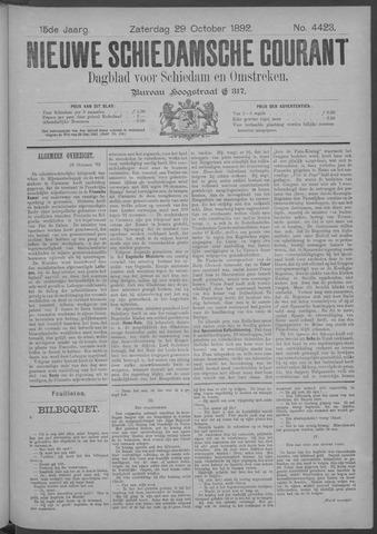 Nieuwe Schiedamsche Courant 1892-10-29