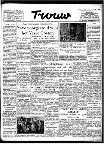Trouw / De Rotterdammer 1954-04-14