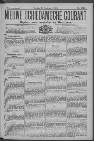 Nieuwe Schiedamsche Courant 1909-09-28