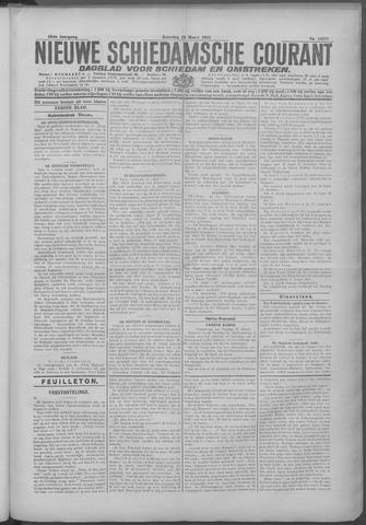 Nieuwe Schiedamsche Courant 1925-03-28