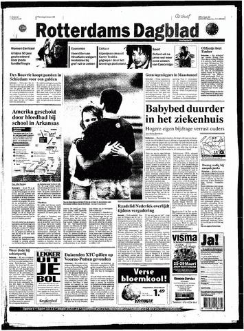 Rotterdamsch Nieuwsblad / Schiedamsche Courant / Rotterdams Dagblad / Waterweg / Algemeen Dagblad 1998-03-25