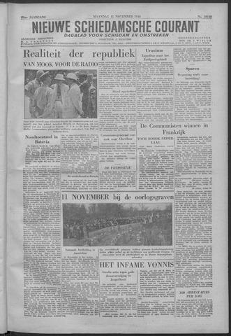 Nieuwe Schiedamsche Courant 1946-11-11