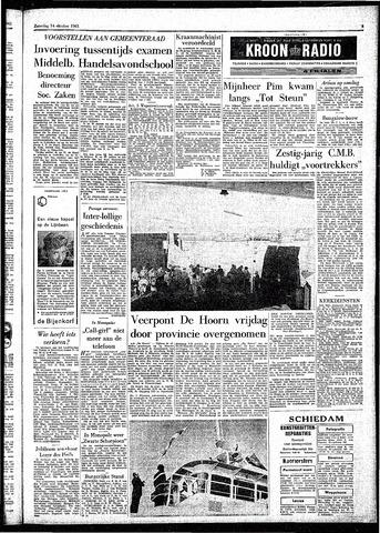 Rotterdamsch Parool / De Schiedammer 1961-10-14