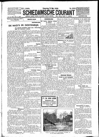 Schiedamsche Courant 1935-05-04