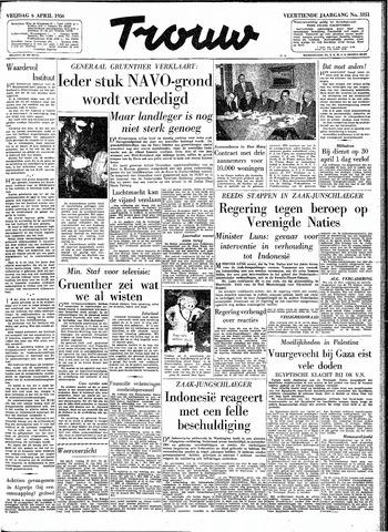 Trouw / De Rotterdammer 1956-04-06