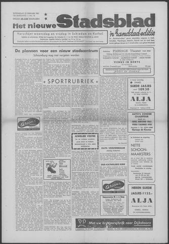 Het Nieuwe Stadsblad 1961-02-22