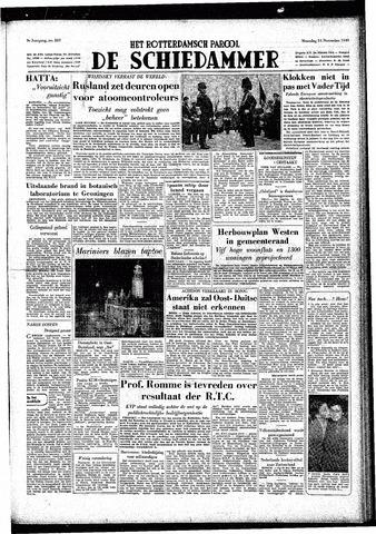 Rotterdamsch Parool / De Schiedammer 1949-11-14