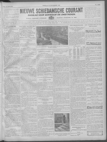 Nieuwe Schiedamsche Courant 1932-11-25