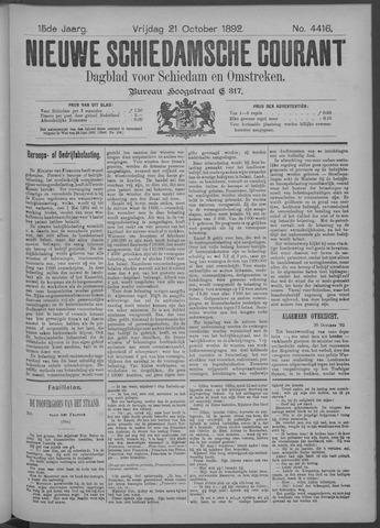 Nieuwe Schiedamsche Courant 1892-10-21