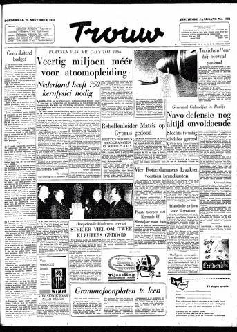 Trouw / De Rotterdammer 1958-11-20