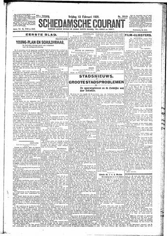 Schiedamsche Courant 1931-02-13