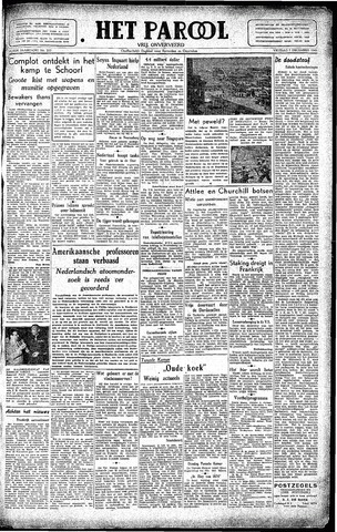 Rotterdamsch Parool / De Schiedammer 1945-12-07