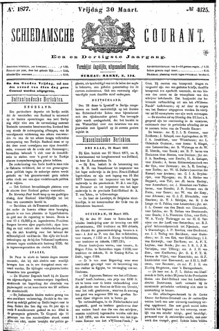 Schiedamsche Courant 1877-03-30