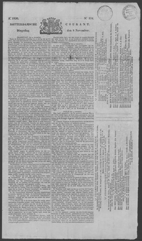 Rotterdamse Courant 1836-11-08