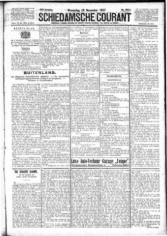 Schiedamsche Courant 1927-11-23
