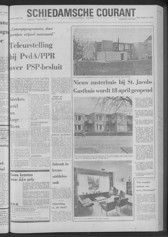 Rotterdamsch Nieuwsblad / Schiedamsche Courant / Rotterdams Dagblad / Waterweg / Algemeen Dagblad 1970-04-08