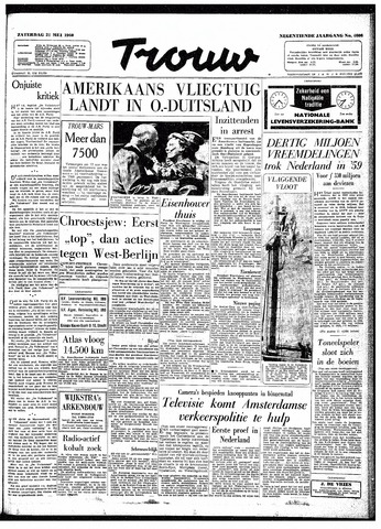 Trouw / De Rotterdammer 1960-05-21