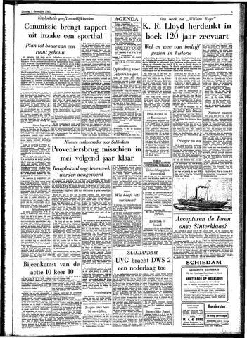 Rotterdamsch Parool / De Schiedammer 1961-12-05