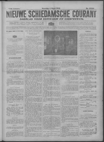 Nieuwe Schiedamsche Courant 1929-03-04