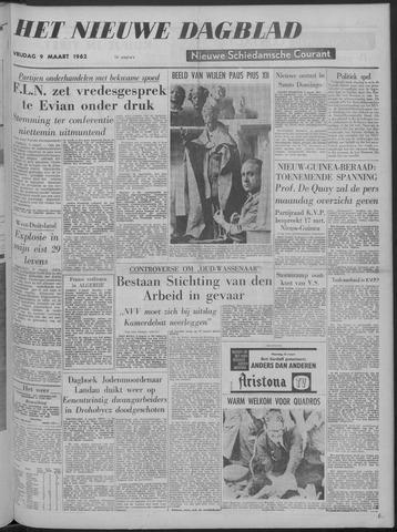Nieuwe Schiedamsche Courant 1962-03-09