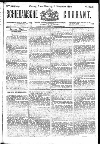 Schiedamsche Courant 1898-11-07