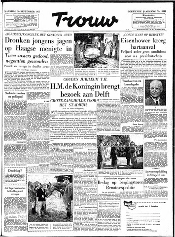 Trouw / De Rotterdammer 1955-09-26