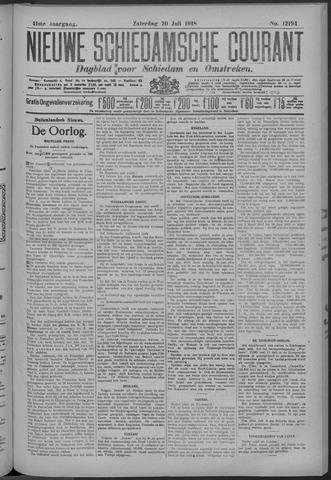 Nieuwe Schiedamsche Courant 1918-07-20